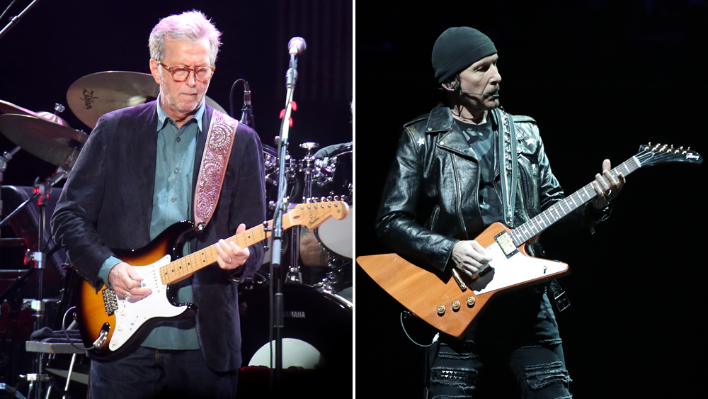 The Duel: Eric Clapton vs The Edge