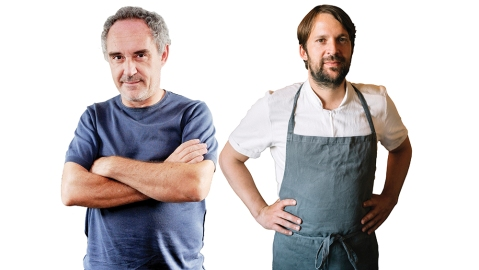 The Duel: Ferran Adrià vs. René Redzepi