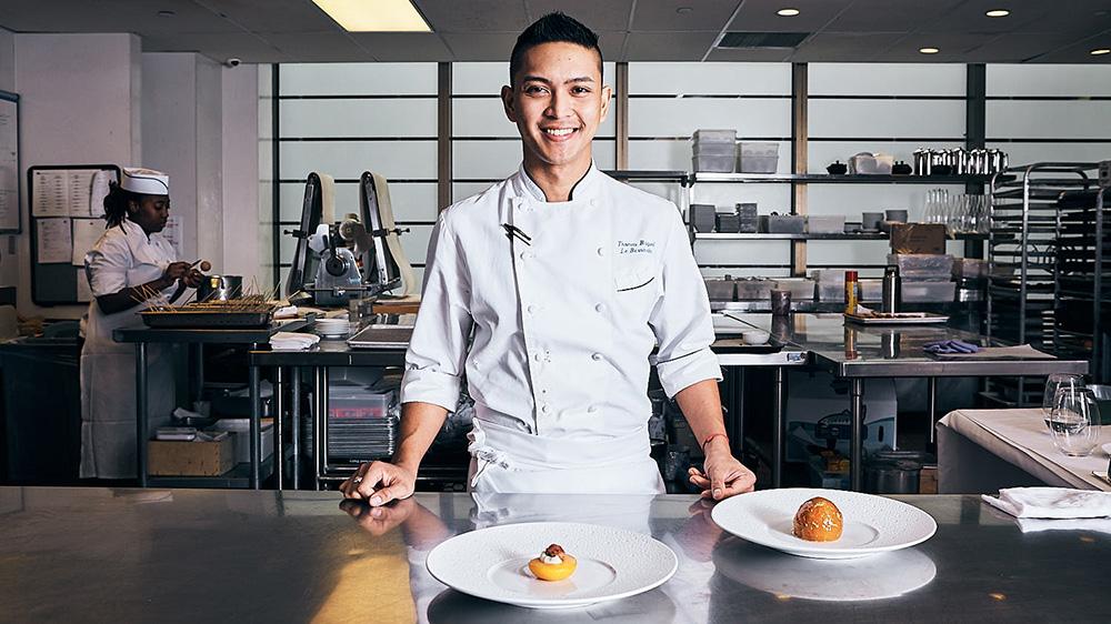 Chef Thomas Raquel at Le Bernadin