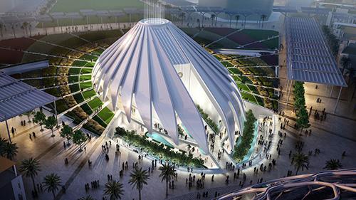 UAE Pavilion at the Dubai World Expo 2020