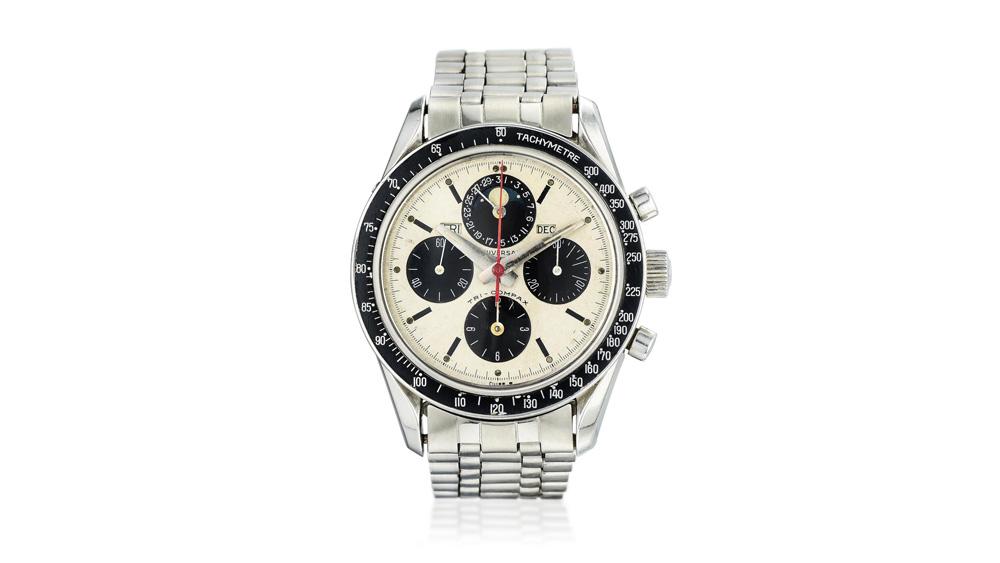Universal Geneve Ref. 881101 Tri-Compax Eric Clapton Chronograph Lot 56