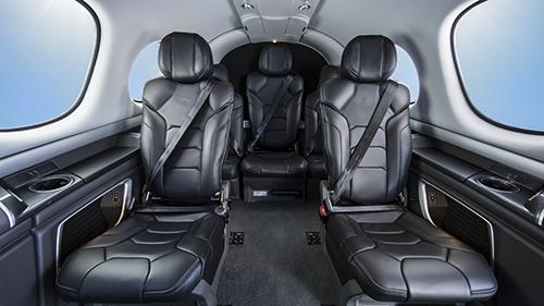 Cirrus G2 SF50 Vision Jet Cabin
