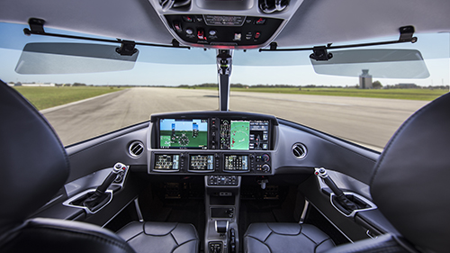 Cirrus G2 SF50 Vision Jet Cockpit