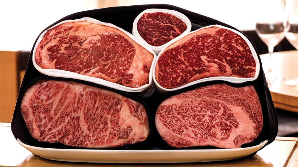 japanese and american wagyu beef