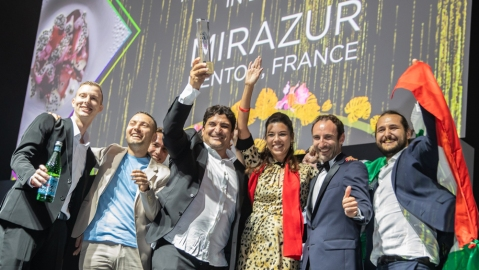 World's 50 Best Restaurants winner mirazur