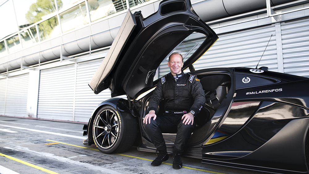 CEO of McLaren Mike Flewitt