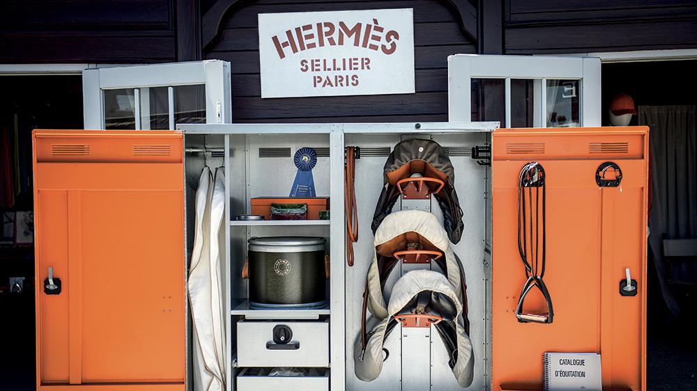 The Hermès boutique at the Wellington showgrounds