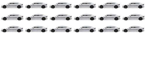 18 Teslas