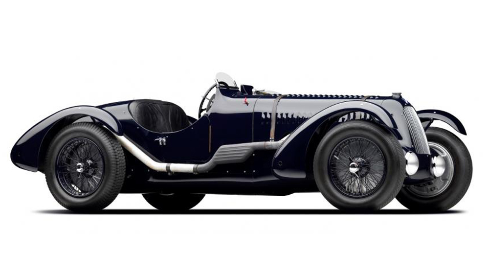The 1936 Talbot-Lago Type 26 SS Roadster.