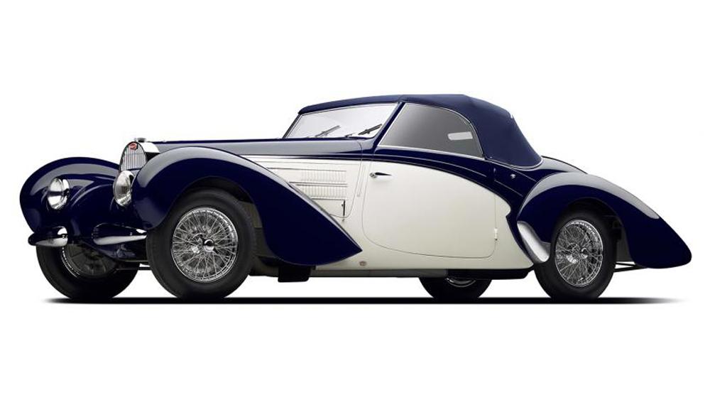 The 1939 Bugatti Type 57C Aravis.