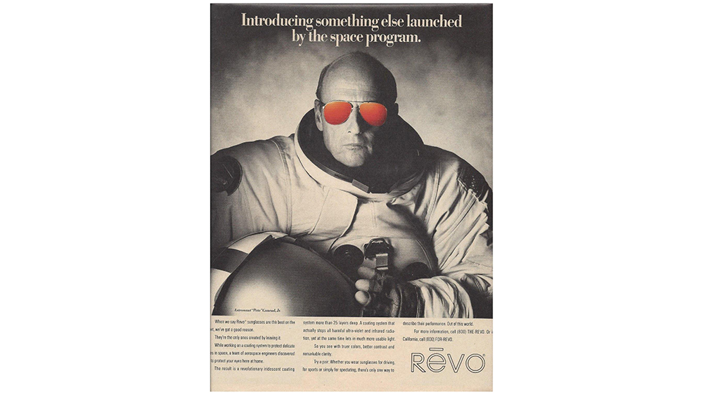 Revo's 1988 Pete Conrad Ad