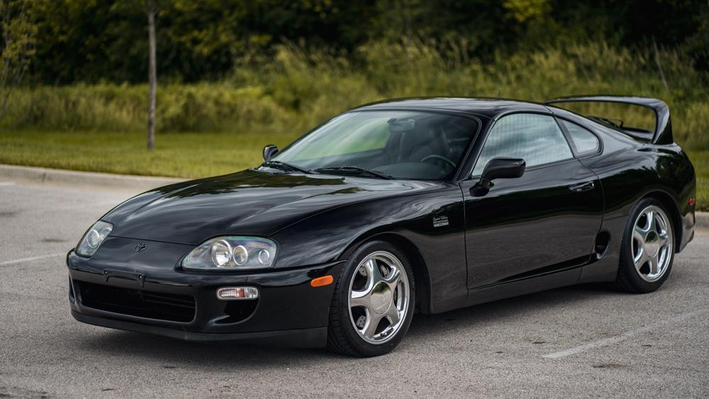 A 1997 Toyota Supra Anniversary Edition.