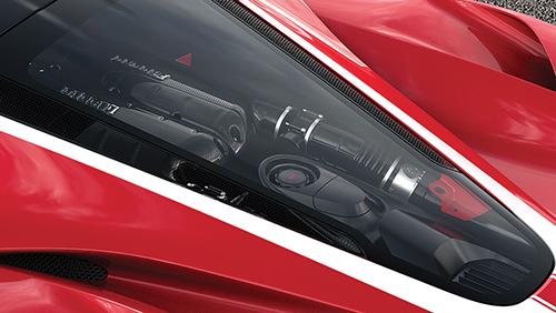 2017 Ferrari LaFerrari engine