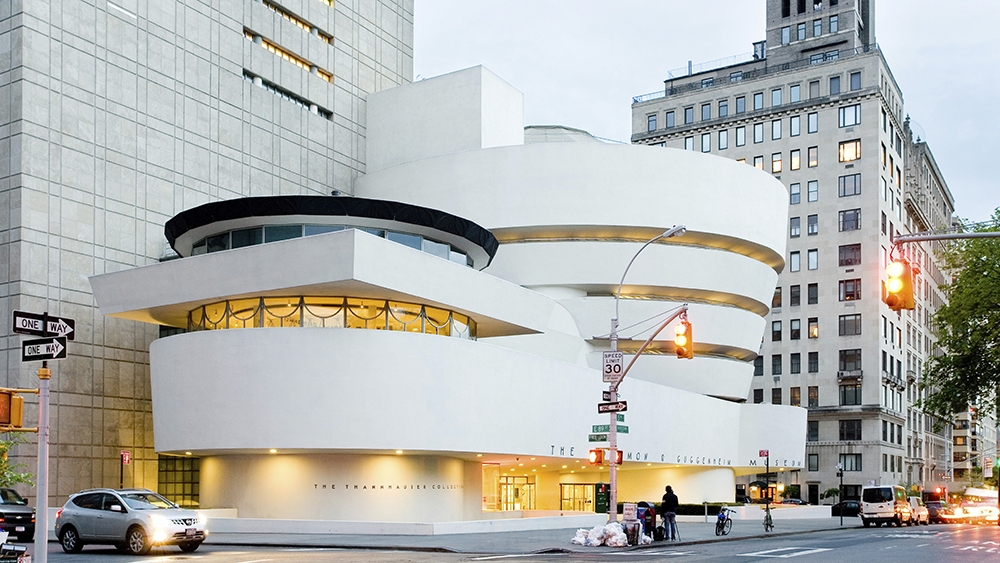 Guggenheim Museum, Fifth Avenue, Upper East SideVARIOUS