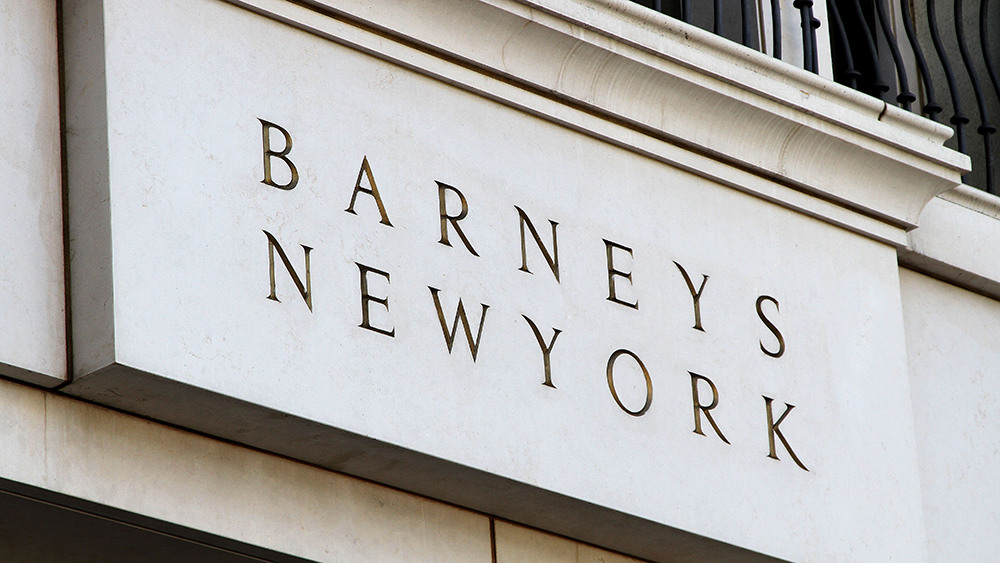Barneys New YorkShop signs, Los Angeles, America - 04 Apr 2015
