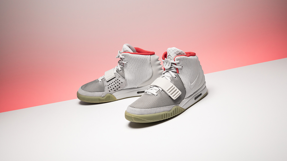 Air Yeezy2 NRG Pure Platinum