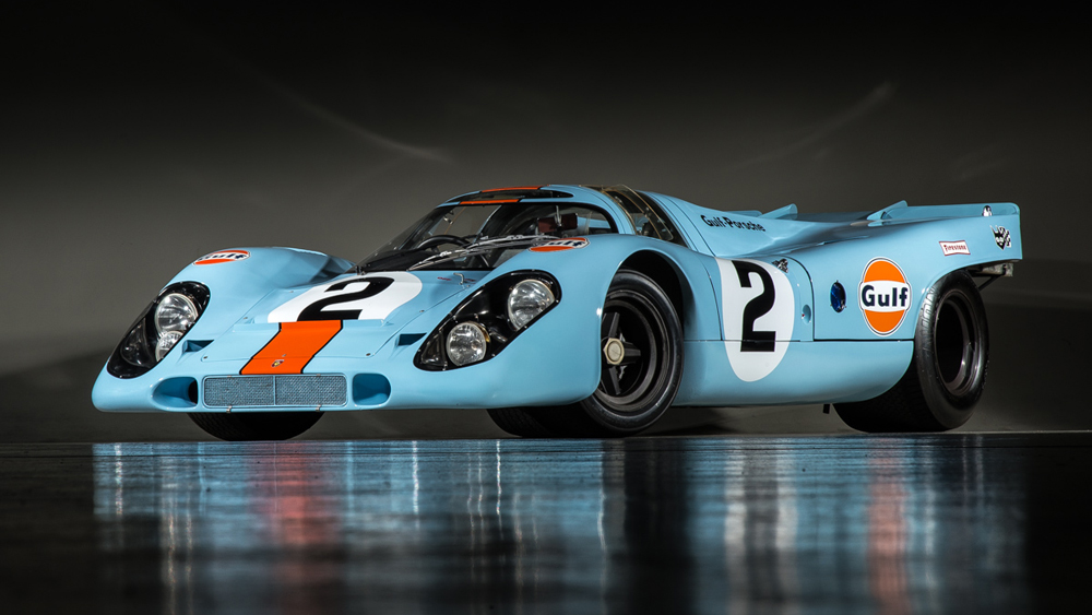 The 917K that won at the 24 Hours of Le Mans and the 24 Hours of Daytona.
