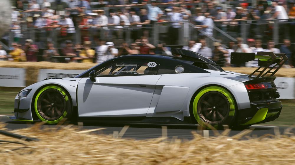 Audi's R8 LMS GT2.