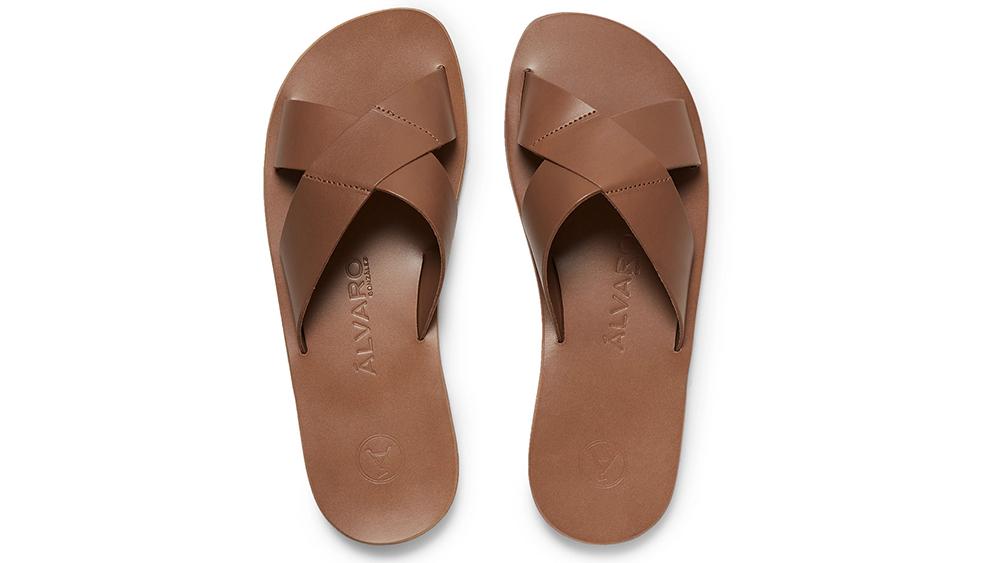 Alvaro's Antonio leather sandal