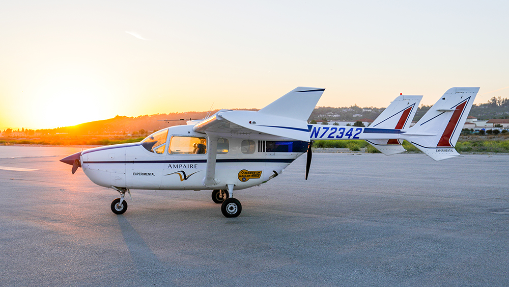 Ampaire Electric EEL Cessna 337 Skymaster