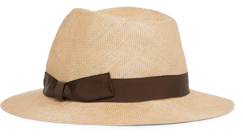 Anderson & Sheppard's lightweight sisal hat
