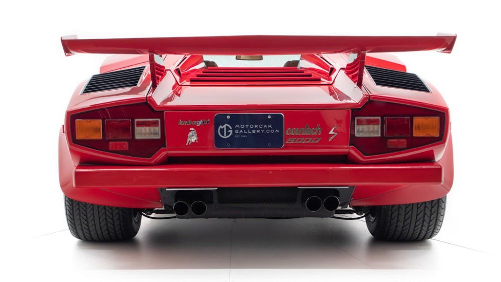 Mario Andretti's 1984 Lamborghini Countach 5000 S