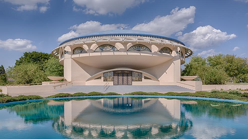 Frank Lloyd Wright's Annunication Greek Orthodox Church