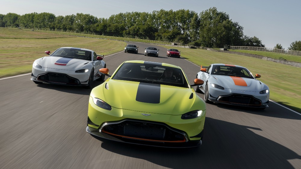 "The Aston Martin ""Vantage Heritage Racing Editions"""