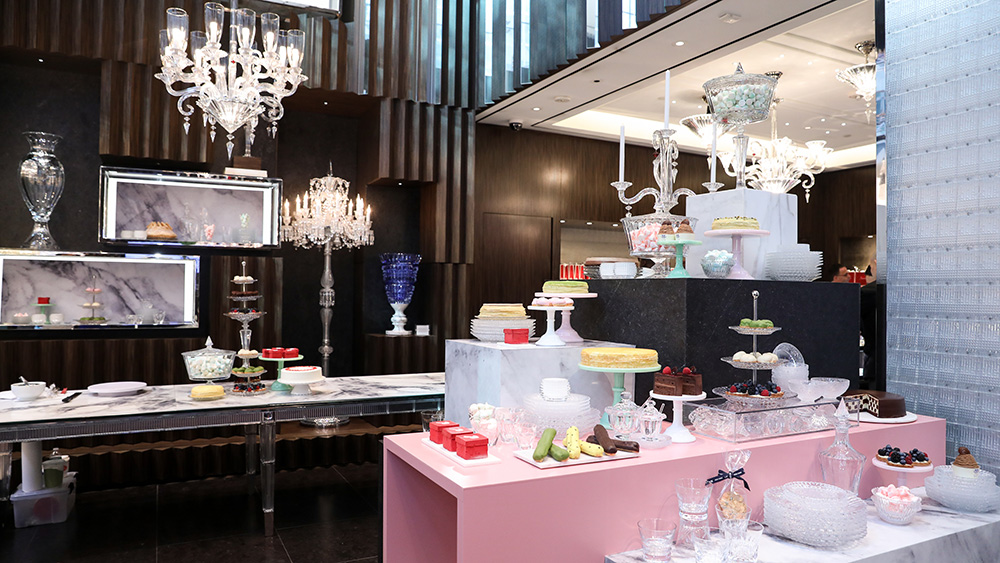 Lady M Cake Boutique and Baccarat Cake Truck