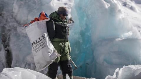 Bally's Peak Outlook expedition started with Mt. Everest and seeks to clean up other mountain ranges.