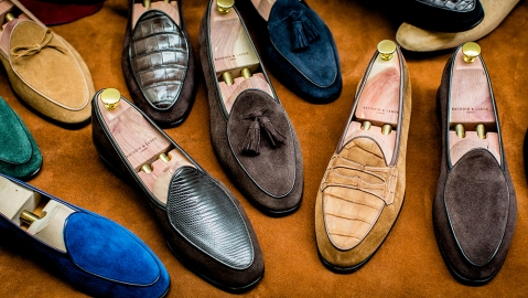 Baudoin & Lange is a young English shoe brand making insanely comfortable loafers.
