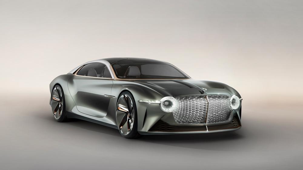 The Bentley EXP 100 GT Concept.