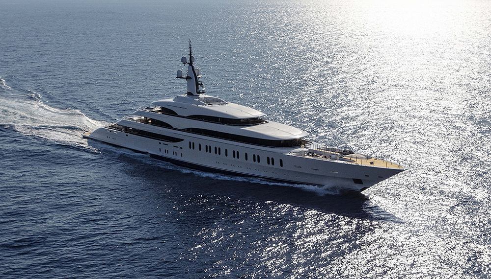 Benetti Gigayacht 354-foot Benetti IJE James Packer