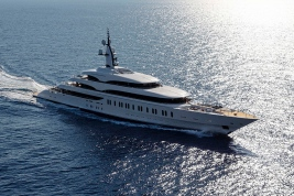 Benetti Gigayacht 354-foot Benetti IJE James Packer