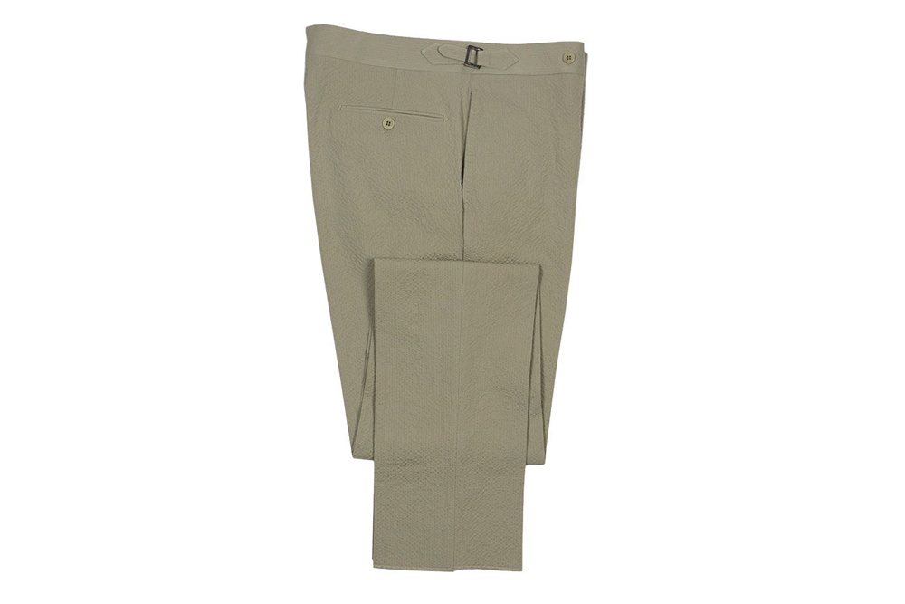 Eidos Seersucker Trousers