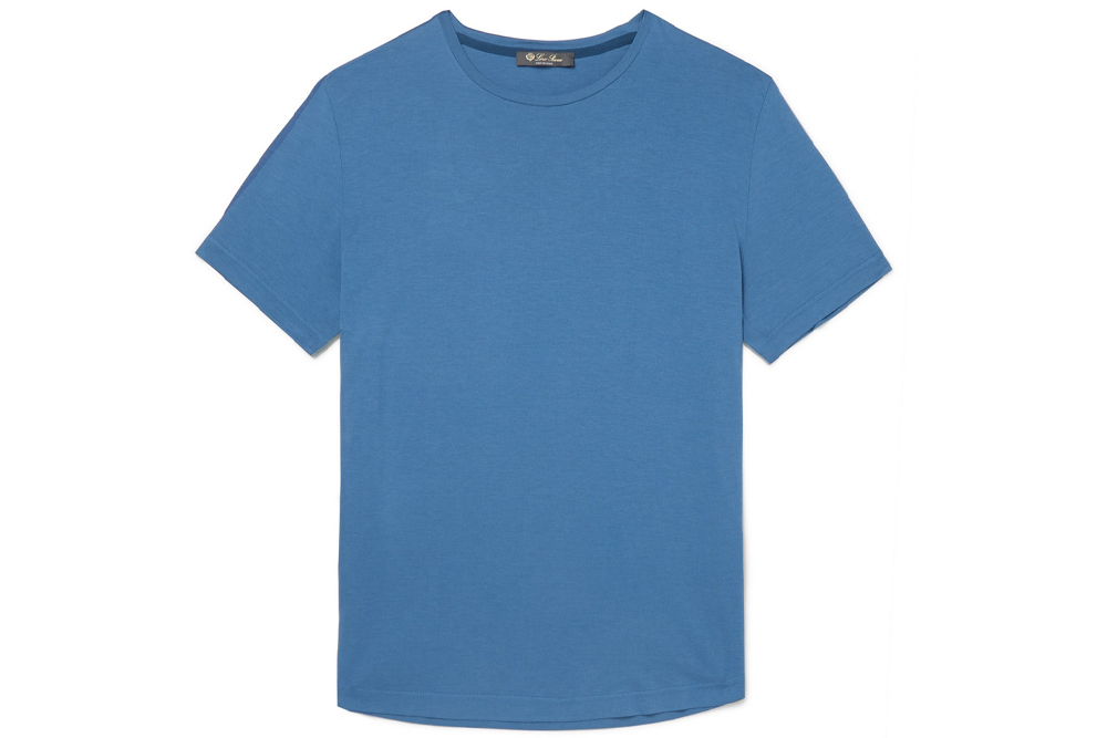 Loro Piana Cotton Silk Blend T-Shirt