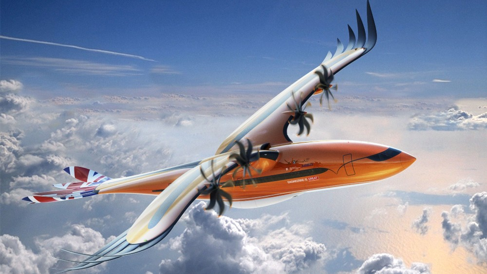 "The Airbus ""Bird of Prey"" concept"