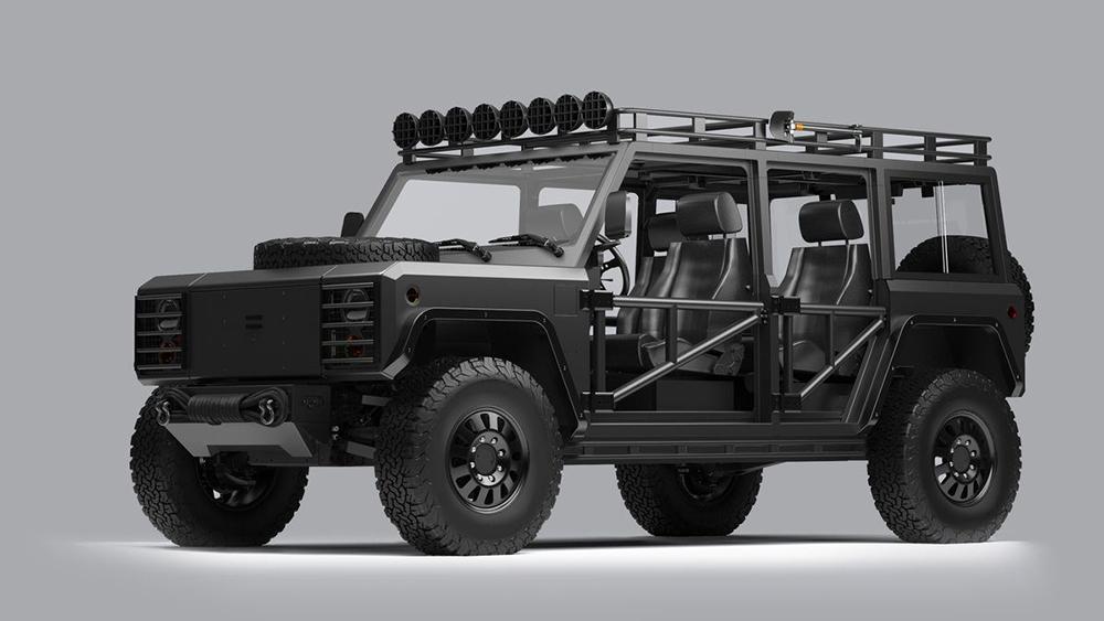 Bollinger's custom B1 truck