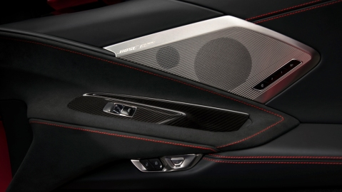 The Bose Performance Series for the 2020 Corvette.
