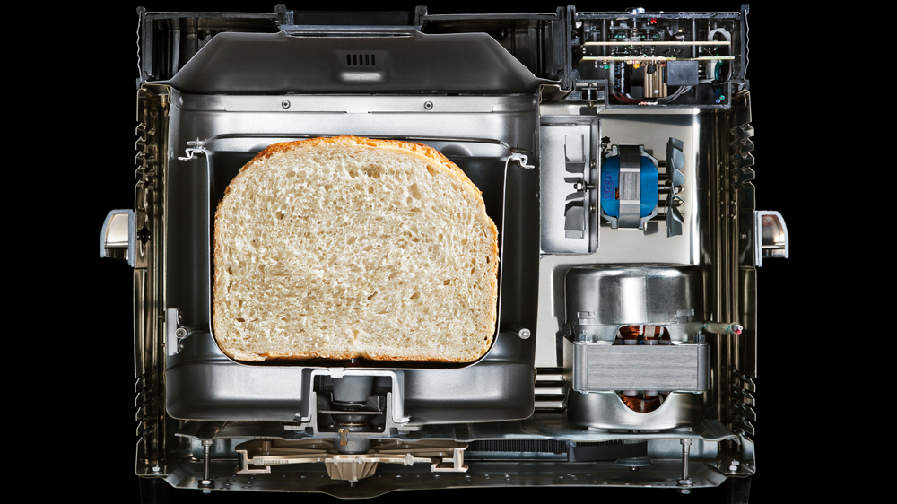 Bread Machine cutaway