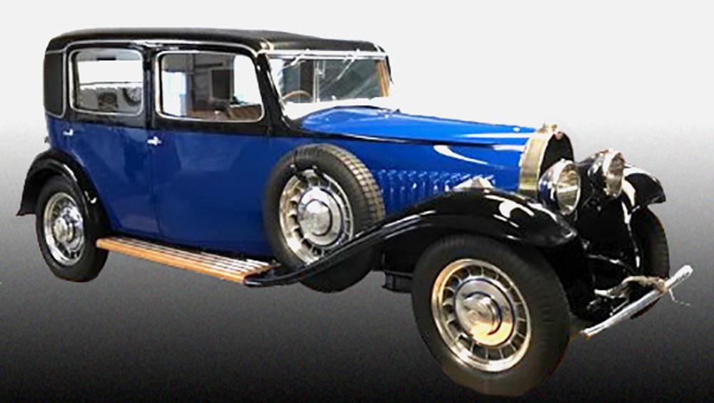 The Bugatti Type 49.