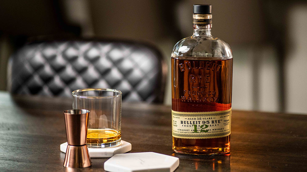 Bulleit 95 Rye 12 Year Old Frontier Whiskey