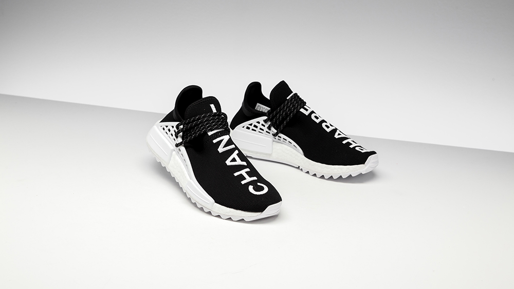 Chanel x Pharrell x Adidas NMD