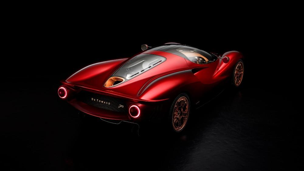 The De Tomaso P72