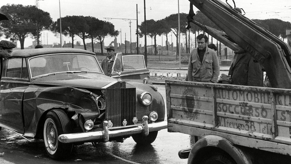 Elizabeth Taylor's Rolls-Royce Silver Cloud II.