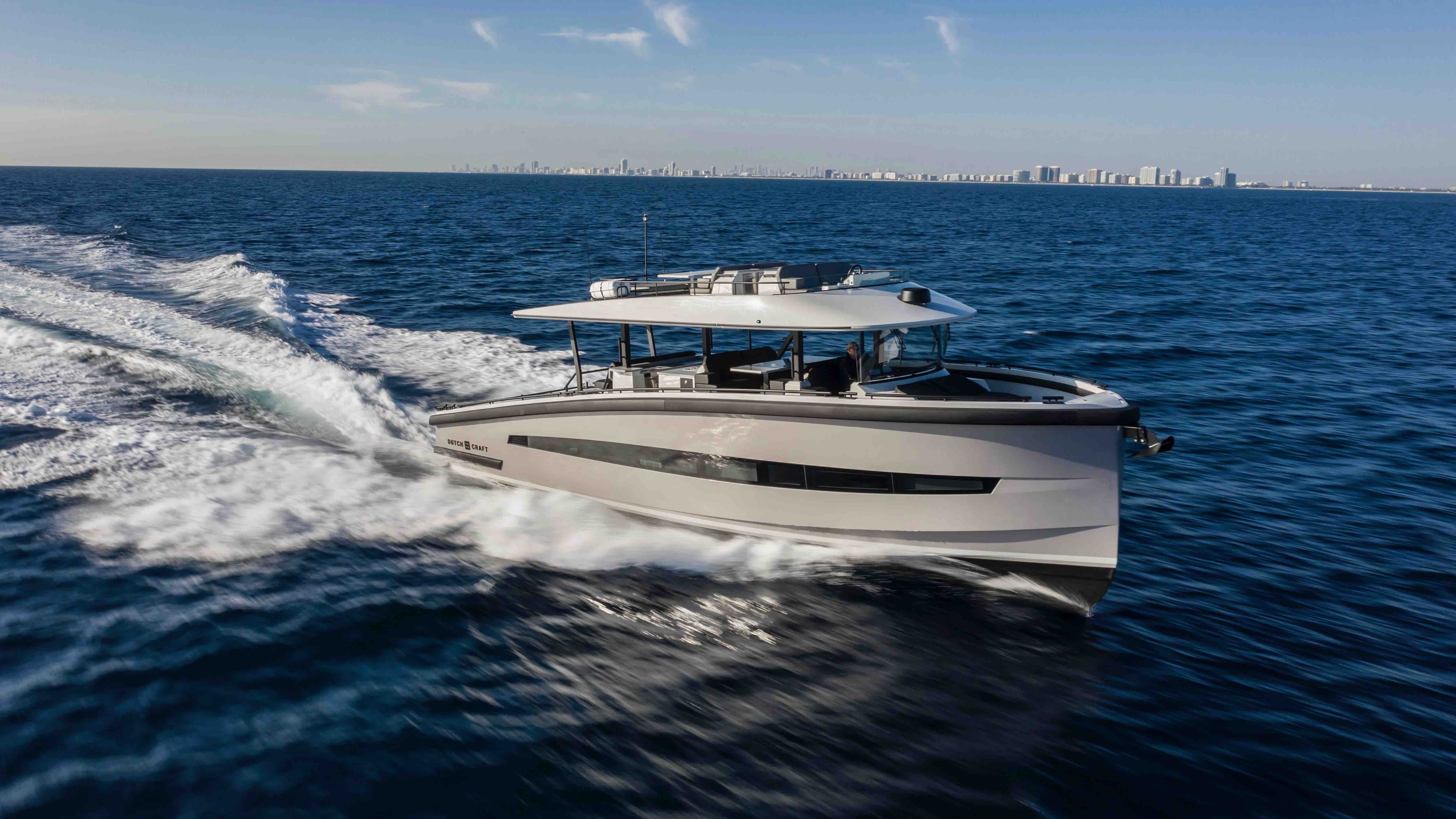 DutchCraft 56 World debut Cannes Yachting Festival