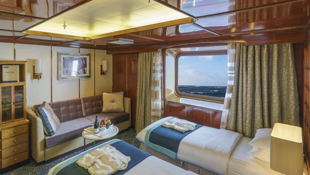One of the Sea Spirit's Superior Suites