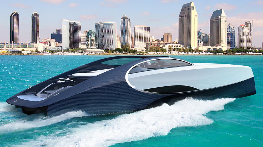 Bugatti Niniette Yacht Palmer Johnson