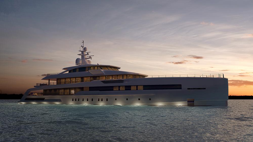CRN M/Y 138 62m superyacht explorer
