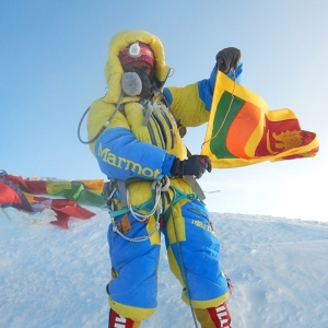 Jayanthi Kuru-Utumpala first Sri Lankan to summit Mount Everest and first first Sri Lankan woman to summit Mount Everest